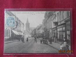 CPA - Saint-Amand-les Eaux - La Rue Thiers - Saint Amand Les Eaux