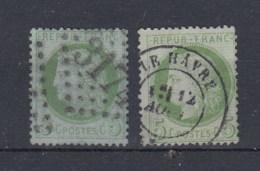 Frankreich Michel Cat.No. Used 48 A/b (2) - 1871-1875 Cérès