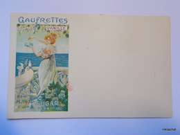 BISCUITS PERNOT-Gaufrettes Vanille - Pubblicitari
