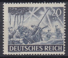 Dt. Reich 838 Tag Der Wehrmacht, Heldengedenktag (I) 20+ 14 Pf Postfrisch - Deutschland