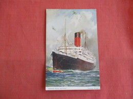 Paquebot Posted At Sea--- Cunard R.M.S. Scythia   Ref 3145 - Paquebots