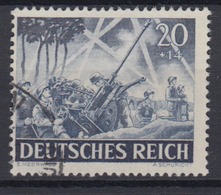Dt. Reich 838 Tag Der Wehrmacht, Heldengedenktag (I) 20+ 14 Pf Gestempelt /1 - Deutschland