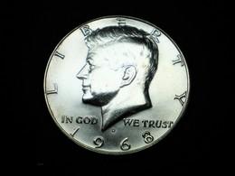 HALF ( 50 Cents ) DOLLAR ETATS-UNIS ARGENT KENNEDY 1968 D     (lot Sct N°112) - Émissions Fédérales