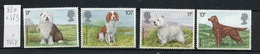 Grande Bretagne - Great Britain - Großbritannien 1979 Y&T N°880 à 883 - Michel N°781 à 784 Nsg  - Exposition Canine - Neufs