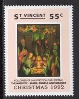 ST VINCENT - 1992 CHRISTMAS 55c CALCAR FOLLOWER STAMP FINE MNH ** SG1996 - St.Vincent (1979-...)