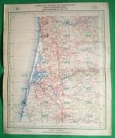 Portugal - Mapa Militar (32,0 X 39,5 Cm) - Aveiro Torreira Macieira De Cambra Espinho Mira Ovar Miramar Granja Map - Cartes Routières