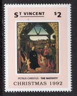 ST VINCENT - 1992 CHRISTMAS $2 CHRISTUS STAMP FINE MNH ** SG2000 - St.Vincent (1979-...)