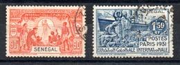 Sénégal  Senegal Y&T 112°, 113° - Used Stamps
