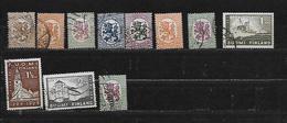 FINLANDE 110/115 à 117/119/127/128/136 à 139 Oblitérés Rond - Used Stamps