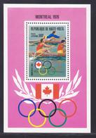 HAUTE-VOLTA BLOC N°    5AM ** MNH Neuf Sans Charnière, TB (CLR449) Jeux Olympiques De Montréal, Aviron - 1976 - Upper Volta (1958-1984)