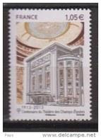 2013-N°4737** THEATRE DES CHAMPS ELYSEE - France