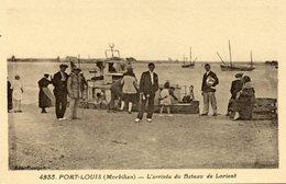 PORT LOUIS  ****LE BATEAU LORIENT PORT LOUIS  **** RIVIERE BUREAU **** - Port Louis
