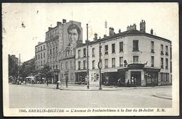 CP1031  CPSM De Kremlin-Bicètre L'Avenue De Fontainebleau. - Kremlin Bicetre