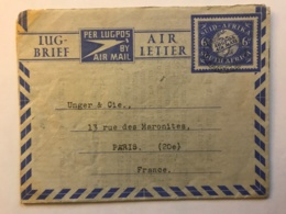 South Africa - Aerogramme Entier Postal 1949 - 6 Dollars Air Mail - Albert Kahn Overseas Agencies Cape Town - Poste Aérienne
