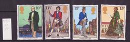 Grande Bretagne - Great Britain - Großbritannien 1979 Y&T N°909 à 912 - Michel N°804 à 807 *** - Sir Rowland Hill - Neufs