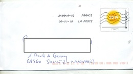 Pap 2018 Flamme Chiffree Sous Code Roc Pas D'agrement - Postal Stamped Stationery