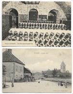 BLIGNY CAVE Du Château & 1908 RUE ANiMéE Rale Bar Sur AUBE En Champagne Meurville Urville Arconville Champignol Troyes - Autres Communes