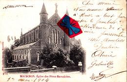 MOUSCRON - Eglise Des Pères Barnabites - Carte Circulée En 1904 - Moeskroen