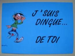 Carte Postale Gaston Lagaffe De Franquin N° 79 - Cómics
