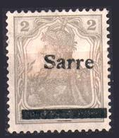 Saar 1921 MiNr - Sarre