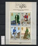 Grande Bretagne - Great Britain - Großbritannien Bloc Feuillet 1979 Y&T N°BF2 - Michel N°B2 Nsg -London 1980 - Neufs