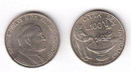 VATICANO GIOVANNI PAOLO II° LIRE 100  DEL 1997 - Vatican