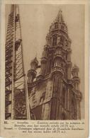 Bruxelles.   -   Exercices Exércices Par  Les Pompiers De Bruxelles - Monuments, édifices
