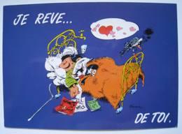 Carte Postale Gaston Lagaffe De Franquin N° 94 - Cómics