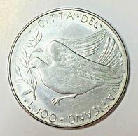 VATICANO 100 LIRE 1977 PAPA PAOLO VI - Vaticano