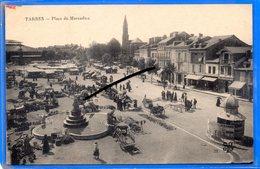 CPA 65 - TARBES - Place Du Marcadieu - Tarbes