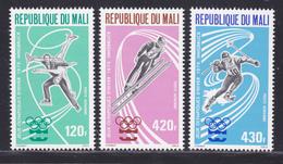 MALI AERIENS N°  267 à 269 ** MNH Neufs Sans Charnière, TB (D8402) Jeux Olympiques Innsbruck - 1976 - Mali (1959-...)