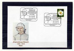 BRD, 2010, Karte Mit Michel 2451 Und Sonderstempel, Jheronimus Bosch - [7] Federal Republic