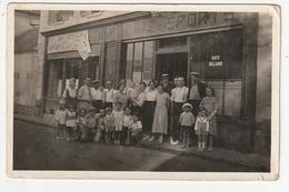 PHOTO - MARGENCY - CAFE DES SPORTS - VINS TABAC - MARIUS COURNIL - RUE D'EAUBONNE - 95 - Places