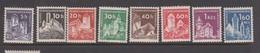 Czechoslovakia Scott 970-977 1960 Definitives Castles, Mint Never Hinged - Czechoslovakia