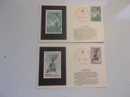 FRANCE (1982) CROIX ROUGE Hommage A Jules Verne - Cartes-Maximum