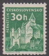 Czechoslovakia Scott 977A 1961 30h Castle Green, Mint Never Hinged - Ungebraucht