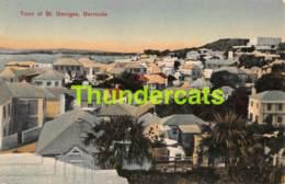 CPA TOWN OF ST SAINT GEORGES BERMUDA - Bermudes