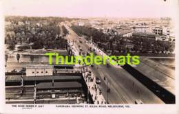 CPA PHOTO PANORAMA SHOWING ST KILDA ROAD MELBOURNE - Melbourne