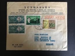 Vietnam Viêt Nam Du Nord Lettre Cover 1963 - Viêt-Nam