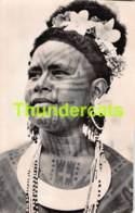 CPA PHOTO MISSION DE PAPOUASIE  JEUNE FILLE TATOUEE RORO  ( PLI D'ANGLE - CORNER CREASE ) - Papouasie-Nouvelle-Guinée
