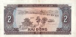 BILLET VIET NAM 2 DONG DE 1980 - Viêt-Nam