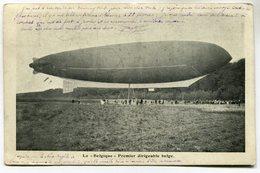 """CPA - Carte Postale - Belgique - Le """" Belgique """" - Premier Dirigeable Belge - 1910 (M7002) - Dirigeables"""
