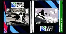 GREAT BRITAIN - 2015  RUGBY  WORLD CUP  S/A  SET  EX BOOKLET  MINT NH - 1952-.... (Elisabetta II)