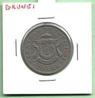 BRUNEÏ  50  SEN  1967 - Brunei