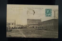 Canada Quebec Trois Rivières Wayagamack Mills Pulp Paper Usine Fabrique De Papier - Trois-Rivières