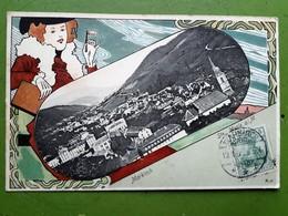 CPA - Saintes-Marie-aux-Mines. Markirch. Litho Couleur 1905 - 2 Scans - Sainte-Marie-aux-Mines