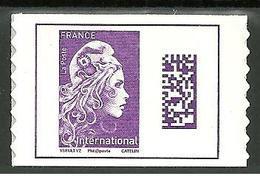 Marianne L'engagée 2019 Adhésif Tarif International - Adhesive Stamps