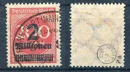 Deutsches Reich Michel-Nr. 309Pa Gestempelt Bahnpost - Geprüft - Deutschland
