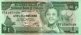 BILLET ETHIOPIE 1 BIRR - Ethiopia