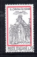 XP3286 - REPUBBLICA 1962 ,  70 Lire N. 941 *** Santa Caterina : Piccolo Spostamento Del Centro - 6. 1946-.. República